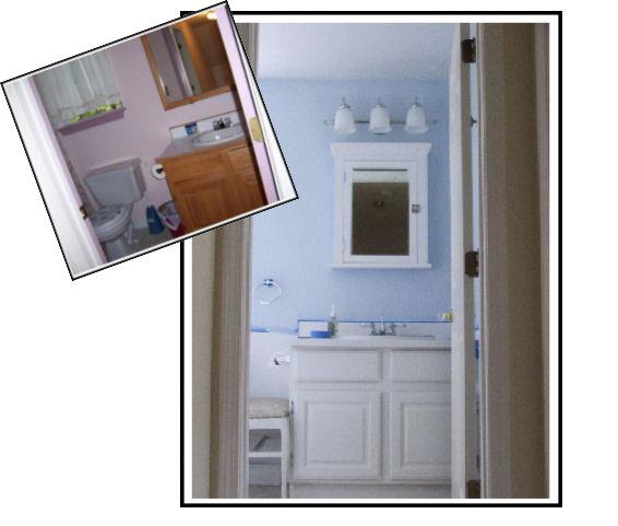 Dio Blue Bathroom