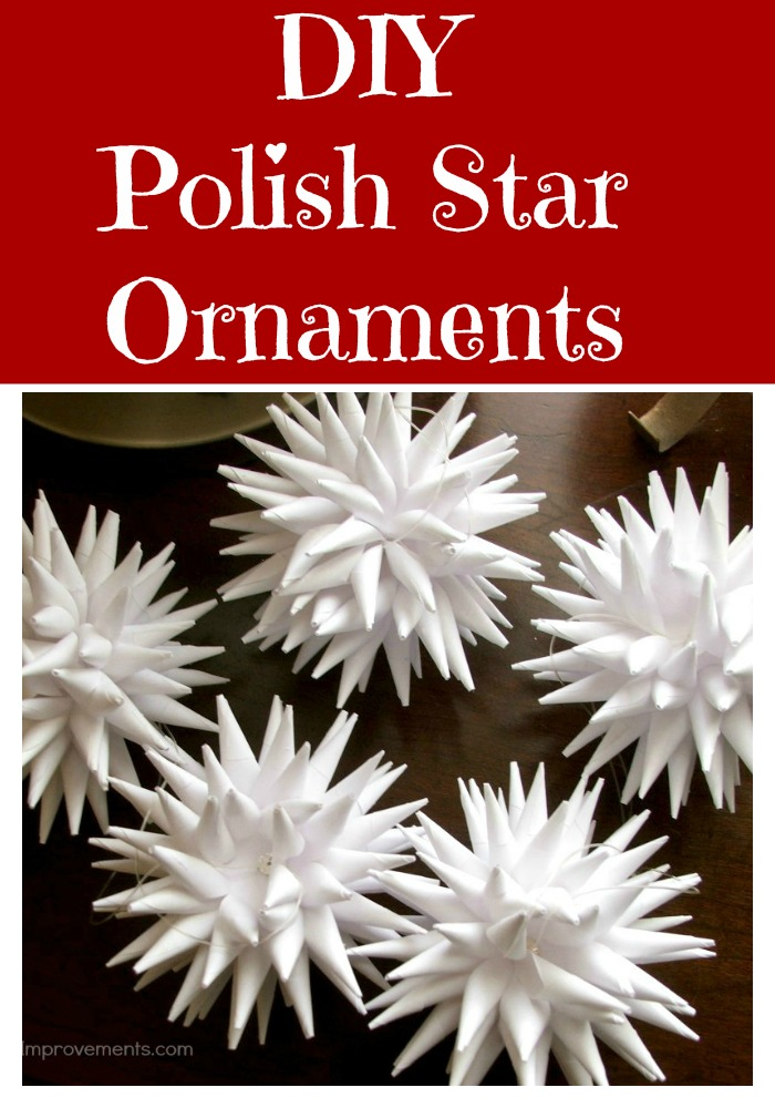 DIY Polish Star Ornaments