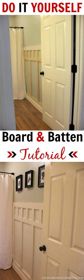 DIY Board & Batten Wall