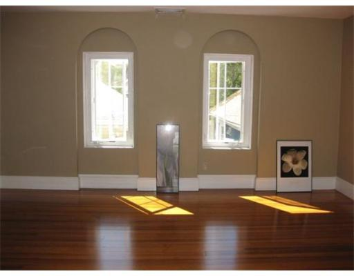 faux arch windows