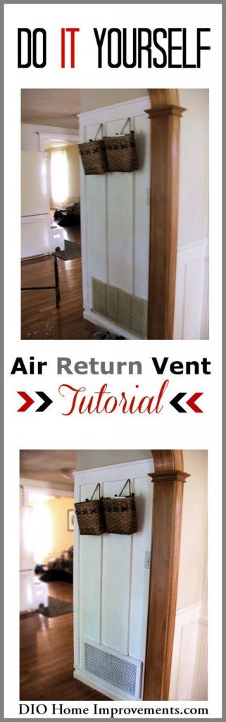 DIY Air Return Tutorial
