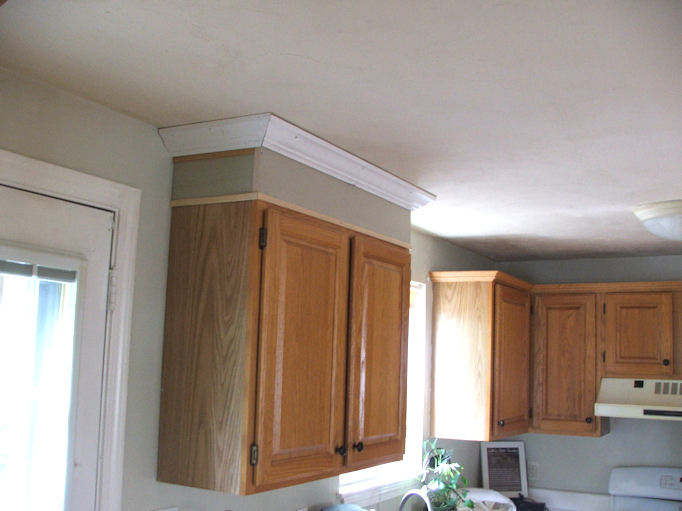 How To Make Short Kitchen Cabinets Look Taller