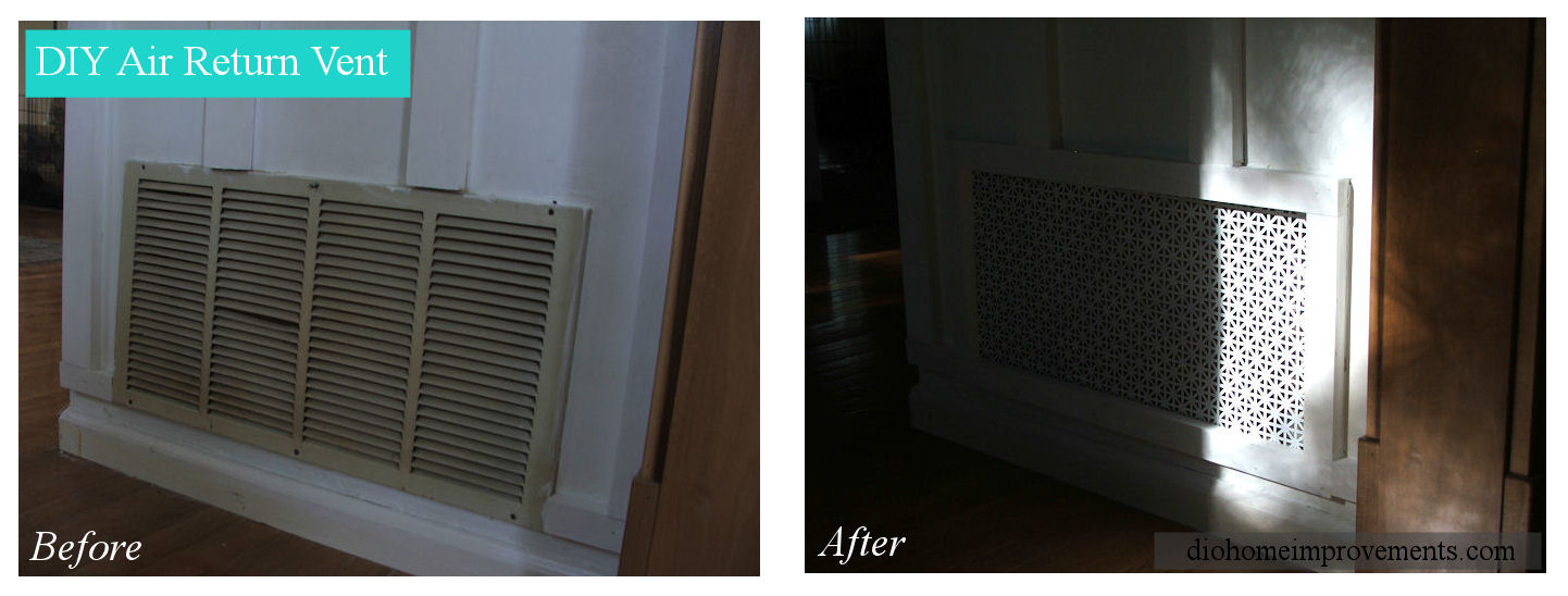 air return vents DIY