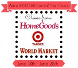 home goods, target, world market