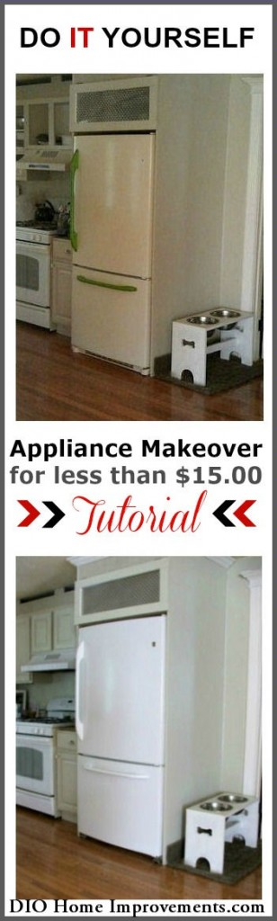 Painting Appliances Tutorial