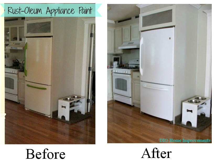 How To Painting Appliances
