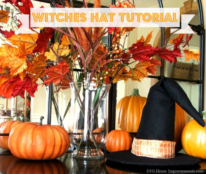 Fall Projects, Witches Hat