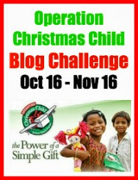 Blog Challenge Operation Christmas Child