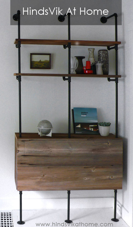 Plumbers Pipe Bookcase - Hindsvik At Home