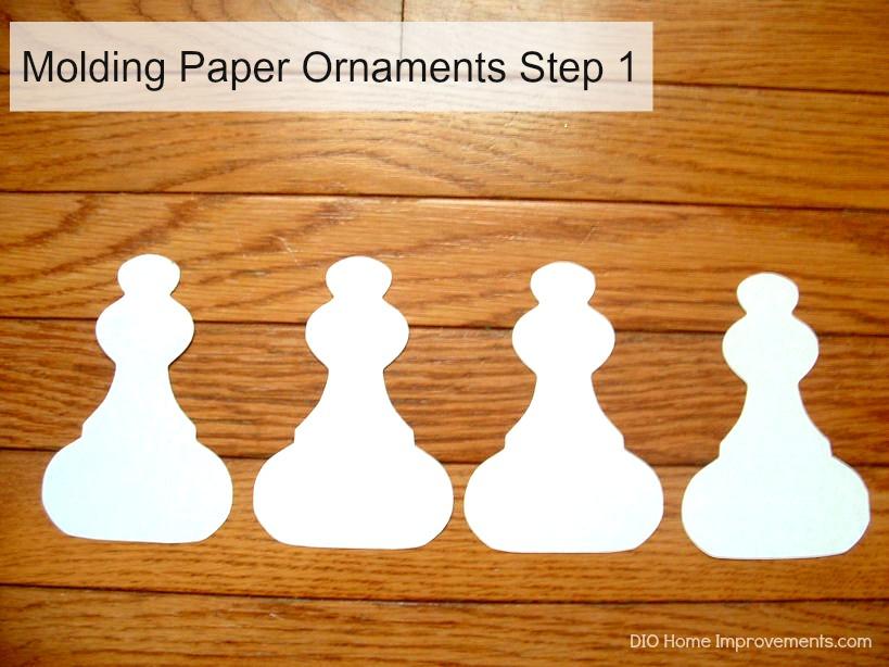 Molding Paper Ornaments