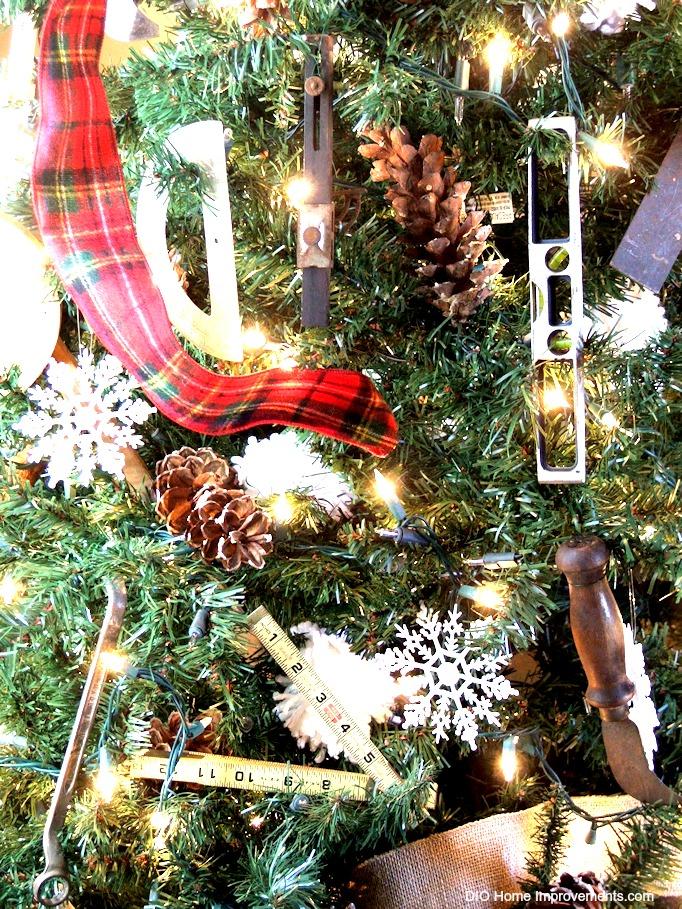 Christmas Tree Tool Ornaments