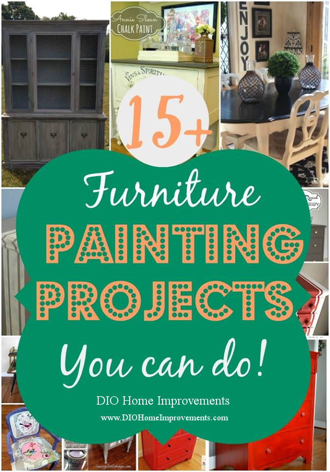 Painting Furniture - 15 projects