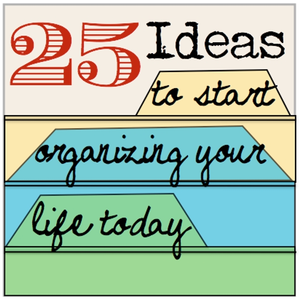 Organizing your life!