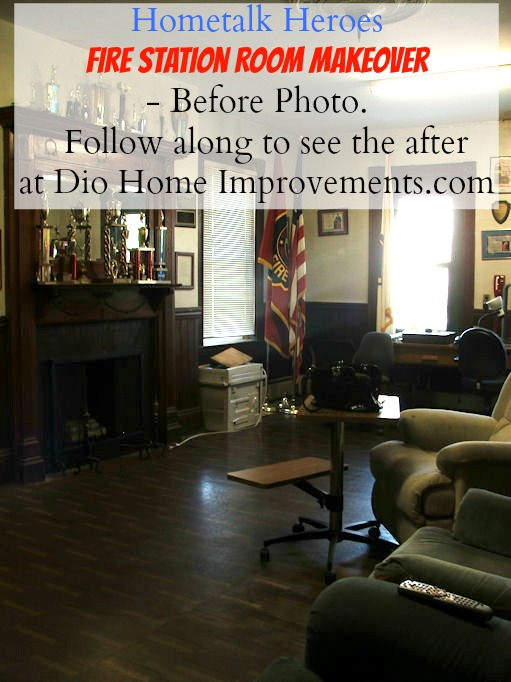 Hometalk Heroes Fire Station Room Makeover Before