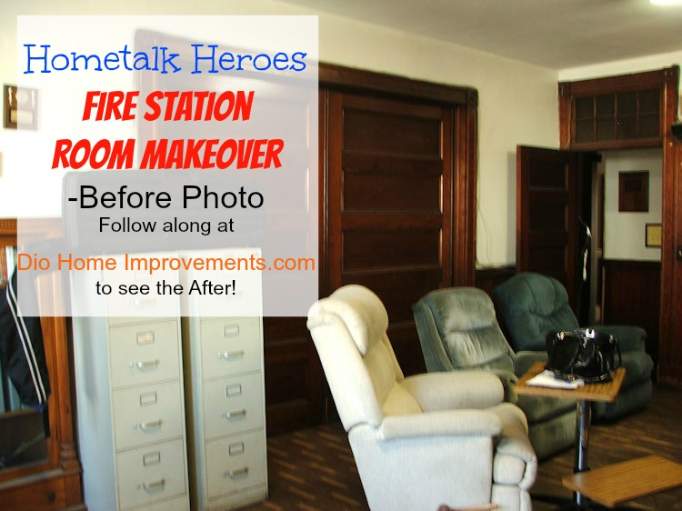 Hometalk Heroes Fire Station Room Makeover Before