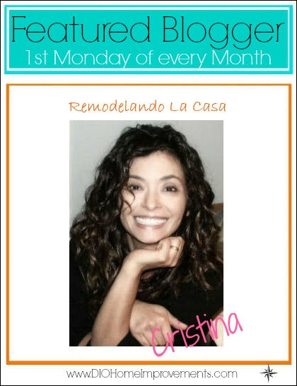 Critstina Monthly Featured Blogger Dio Home Improvements