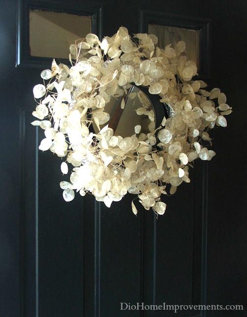Money Plant Mirror Wreath