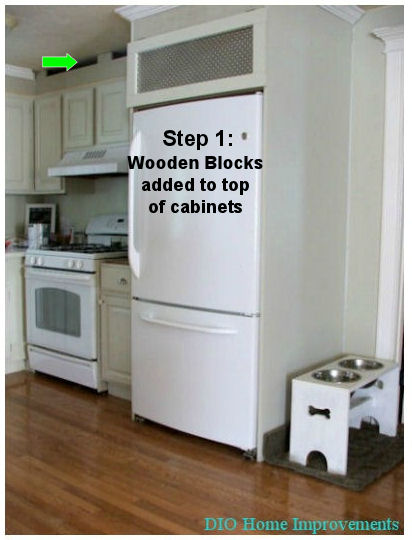 DIY Kitchen cabinets less than $250 - DIO Home Improvements