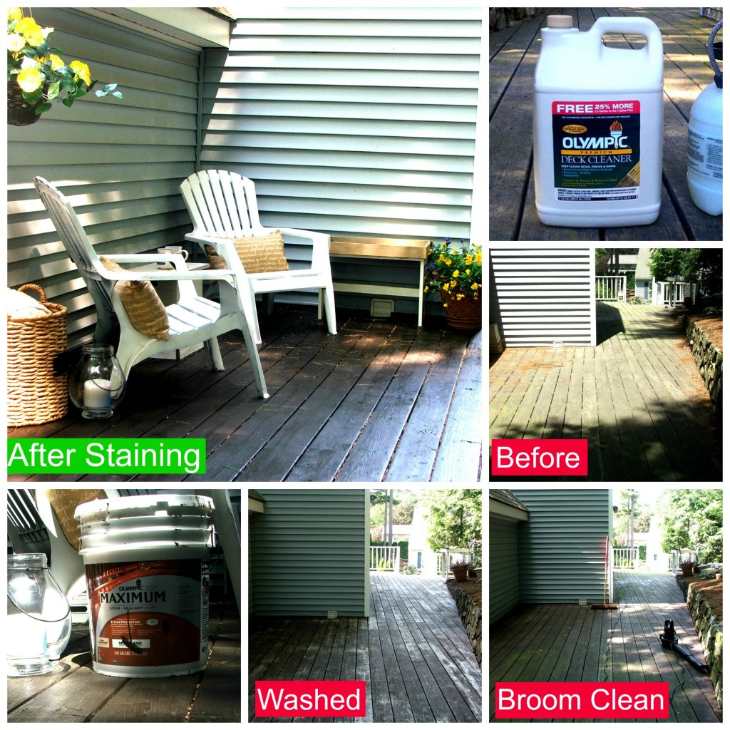 Olympic Maximum Stain and Premium Deck Cleaner  #uptothetest