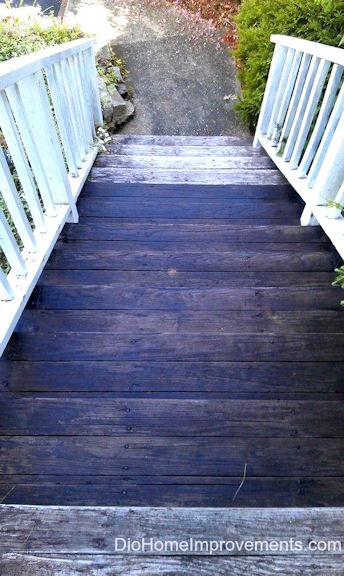 Olympic Maximum Stain  #uptothetest Deck Before & After