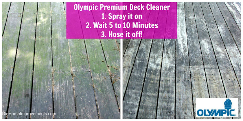 Olympic Premium Deck Cleaner  #uptothetest