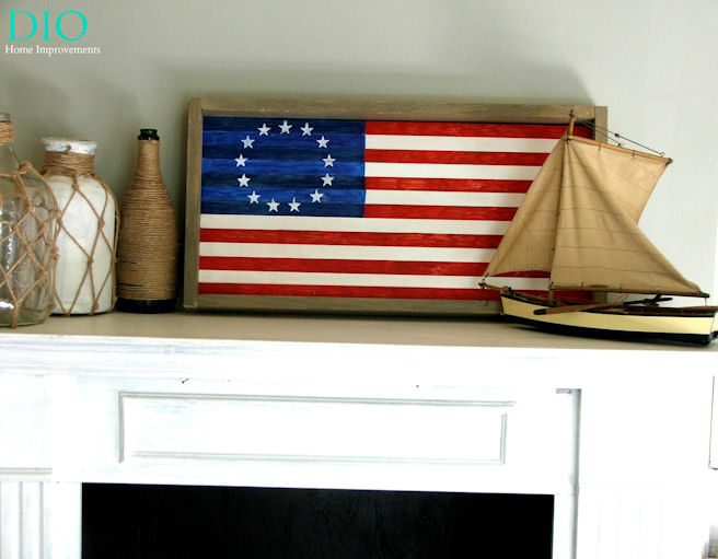 Diy American Flag Decor Ideas Check Out These Incredibly Easy Each Puts