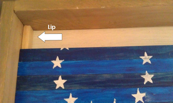 DIY Reversible Flag