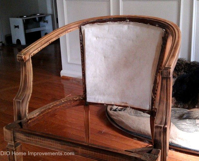 Restoration Hardware Deconstructed Chair Knockoff - Before