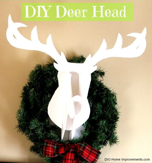DIY Christmas Projects, Deer Head