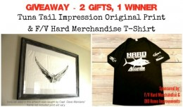 DIY FIsh Impression Art & F/V Hard Merchandise Giveaway