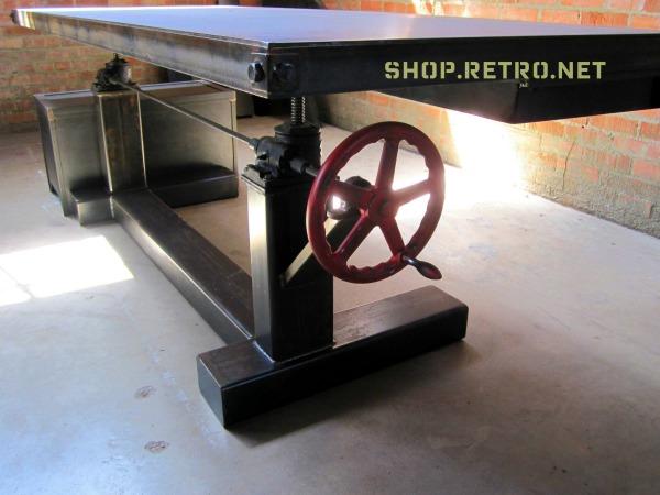 Retro Crank Table
