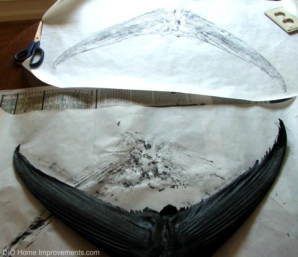 Fish Impression Art - Tuna Tail