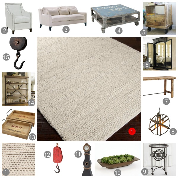 Wayfair Mood Board