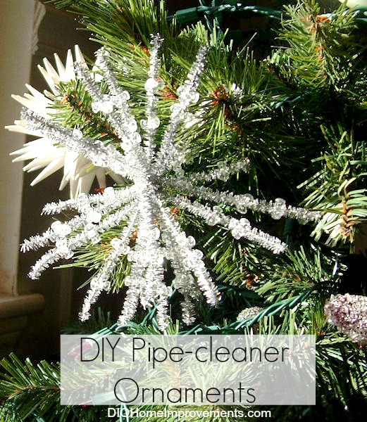 DIY Christmas Projects, Pipe Cleaner Ornaments