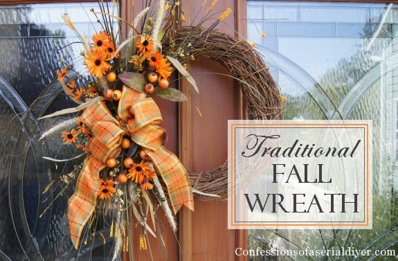 Fall Projects, Traditional Grapevine Wreath