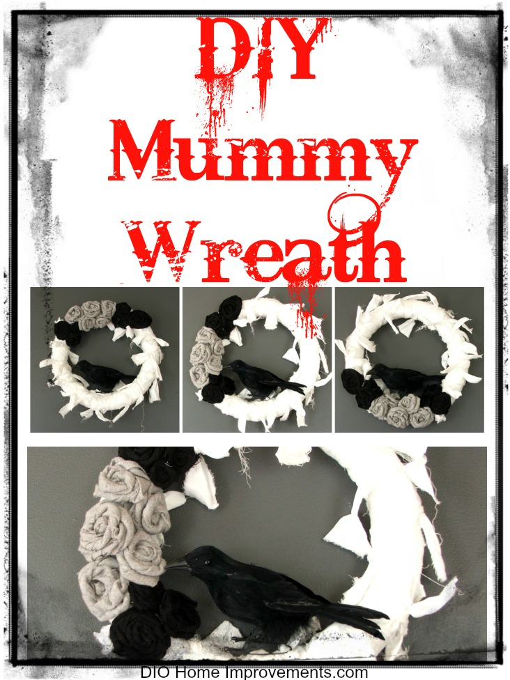 DIY Mummy Wreath