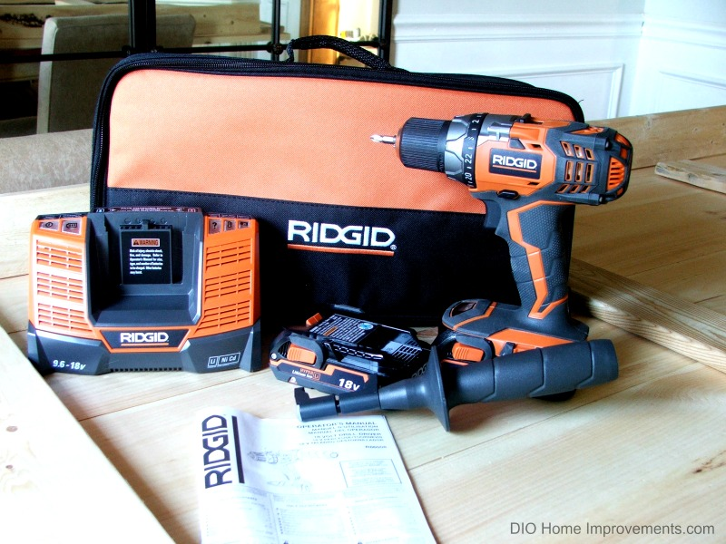 Ridgid 18V Drill Review, #Sponsored #TeamRIDGID