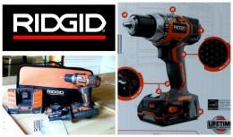 Ridgid 18V Drill Review, #Sponsored #TeamRIDGID