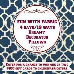 Online Fabric #sponsored