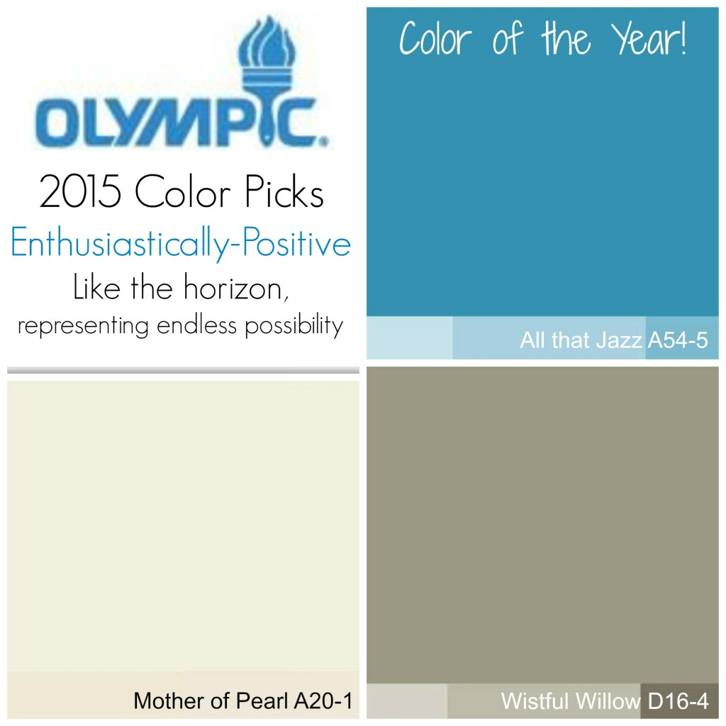2015 Olympic Paint Color Trends