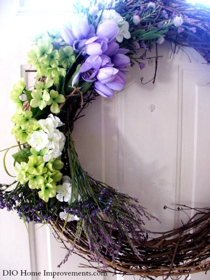 2015 Spring Door Decor