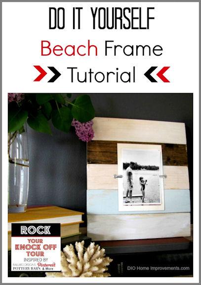 Beach Frame Tutorial Knockoff