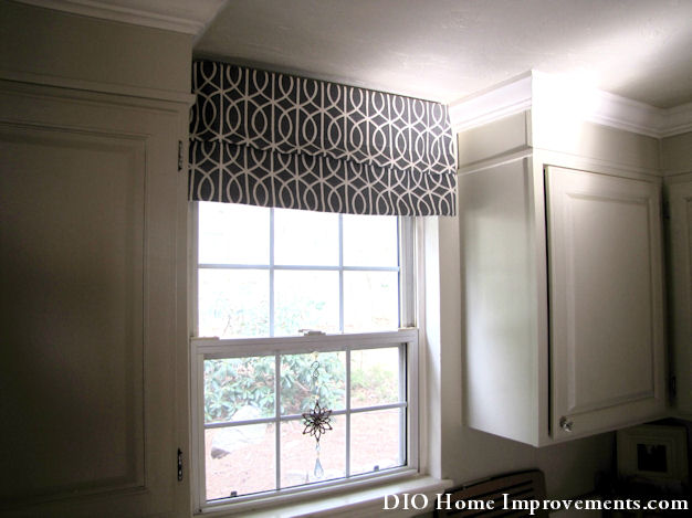 DIY Faux Roman Shade Tutorial