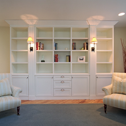 Built In Bookshelves Plans | Woodworker Magazine